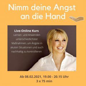 Nimm deine Angst an die Hand - Online Kurs @ Online per Zoom